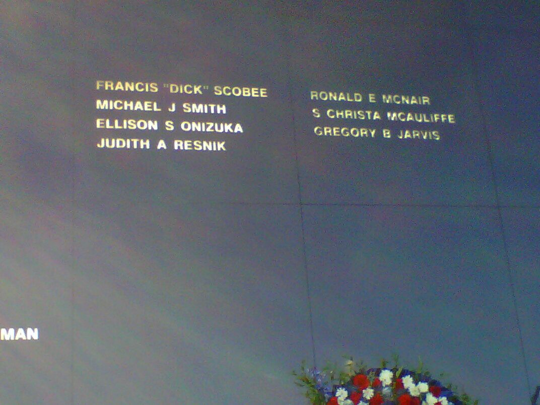 space shuttle challenger crew names - photo #4