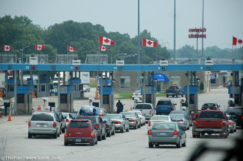 the u s canada border crossing