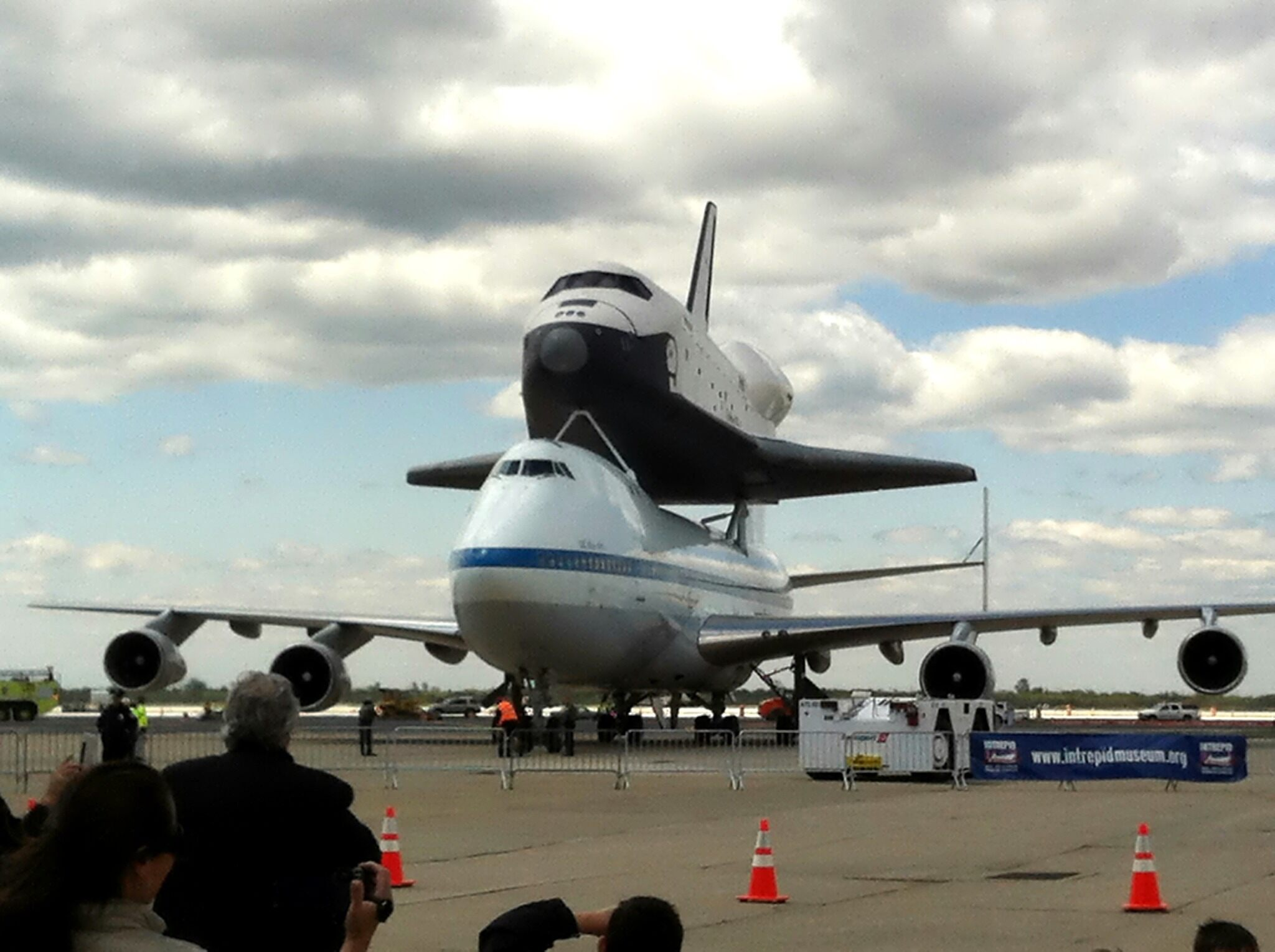 Space Shuttle Enterprise Arrives in NYC [VIDEO] | News