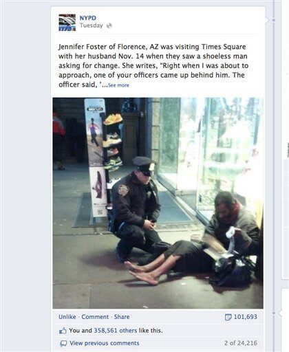 Viral Fox News: Simple Act Of Kindness: Boot-Giving Cop Goes Viral