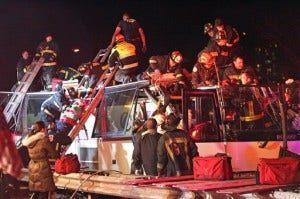 Boston Bus Crash