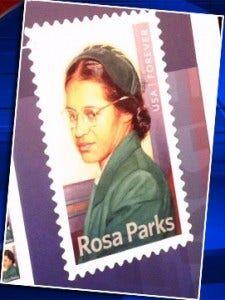 2-4 Rosa Parks Stamp