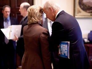 Joe Biden Hillary Clinton - Hacking
