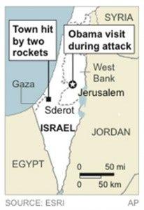 ISRAEL OBAMA