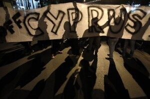APTOPIX Cyprus Financial Crisis
