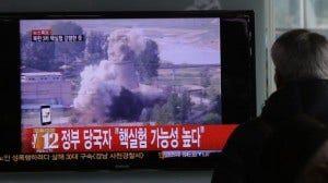 North Korea - Nuclear Test