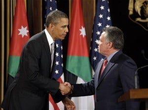 Barack Obama, Abdullah II