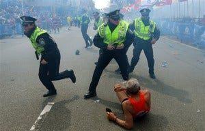knocked down runner