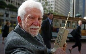 First Mobile Phone - Martin Cooper