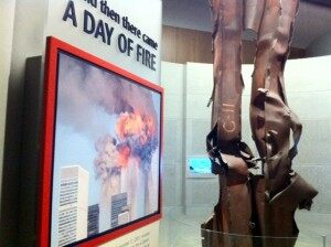 Bush Library - WTC Steel