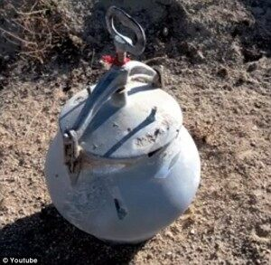 An example of what asome pressure cooker bombs look like..