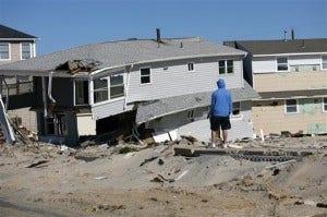 Superstorm Jersey Shore