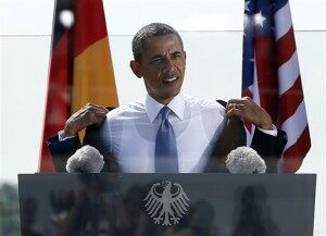 APTOPIX Germany US Obama