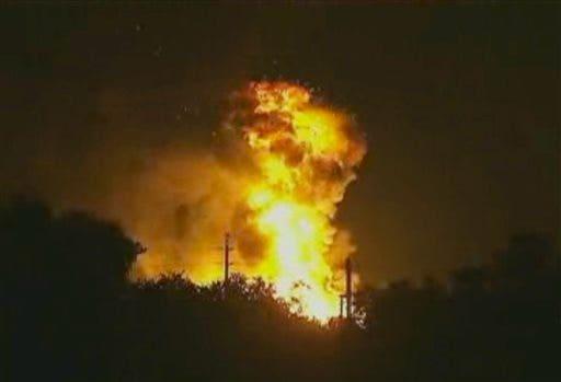 Florida Gas Plant Blast
