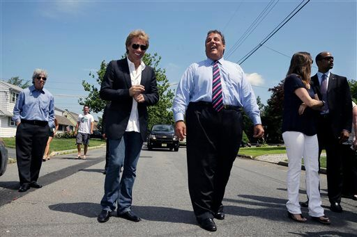 Jon Bon Jovi, Chris Christie