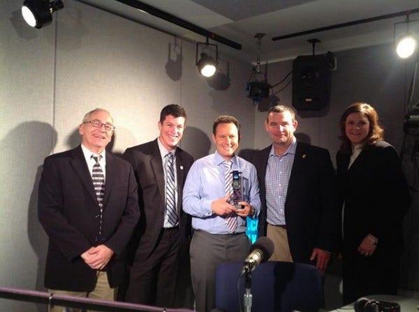 NCAA Award Brian Kilmeade