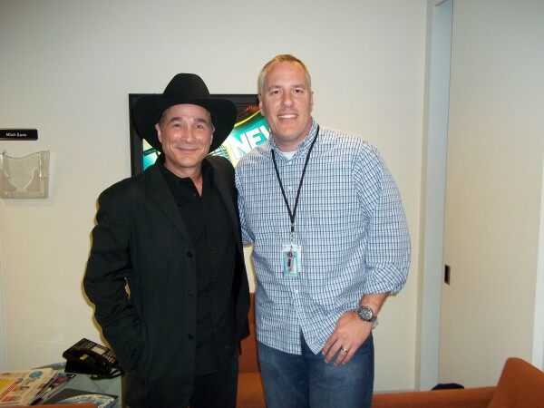 Clint Black and FOX News Radio's Jeff Monosso