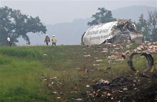 APTOPIX UPS Plane Crash