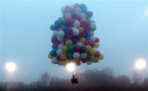 Cluster Balloon Flight