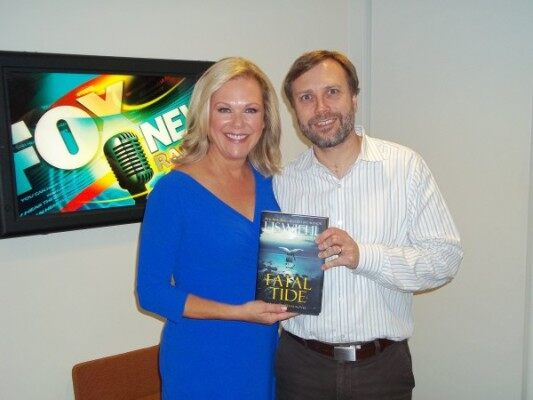 (Lis Wiehl and FOX News Radio's Dave Anthony)
