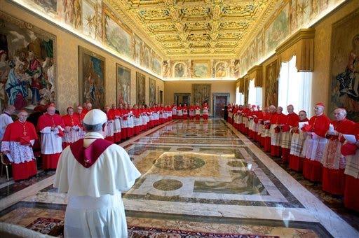 (AP Photo/L'Osservatore Romano, ho)