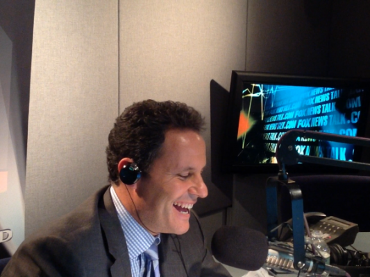 kilmeade at mic in radio studio