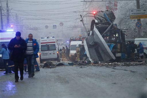 APTOPIX Russia Explosion