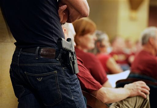 Minnesota Capitol Guns