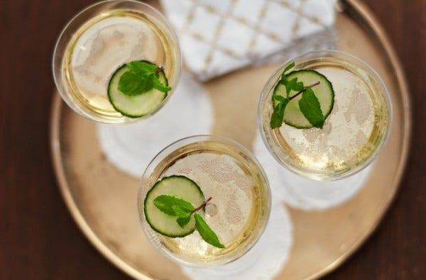 Sparkling Wine Cocktails  Photo courtesy:  Chandon