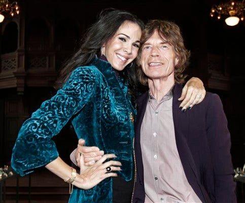 L�'Wren Scott, Mick Jagger