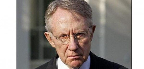 Harry Reid angry face