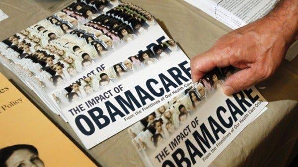 Obamacare pamphlet