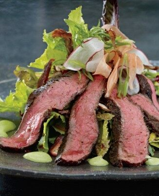 Chinois Grilled London Broil Salad photo credit: Carin Krasner