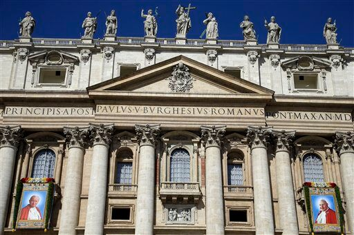Vatican Popes Saints