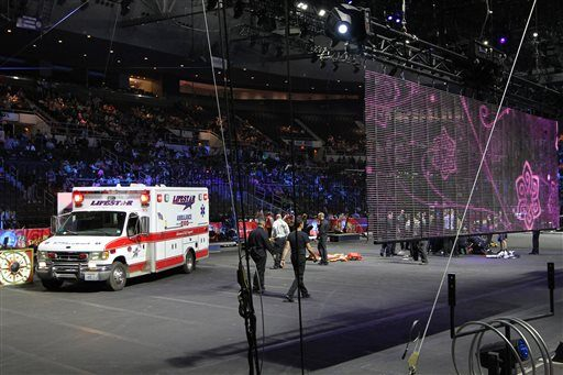 APTOPIX Circus Accident