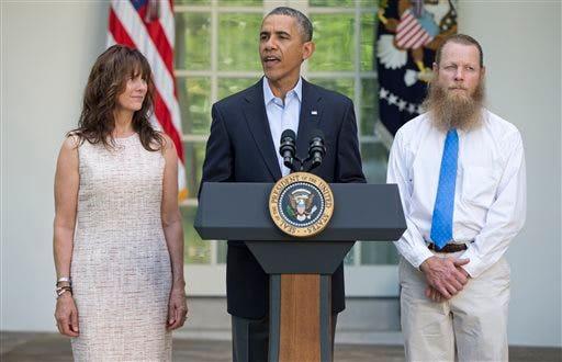Barack Obama, Jani Bergdah, Bob Bergdahl,