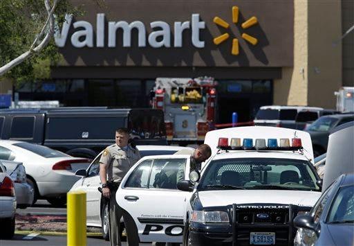 Police Shot-Las Vegas