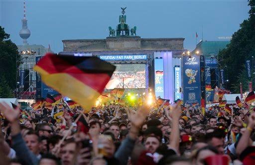 Brazil Soccer WCup  Germany