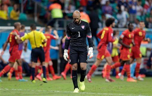 APTOPIX Brazil Soccer WCup Belgium US