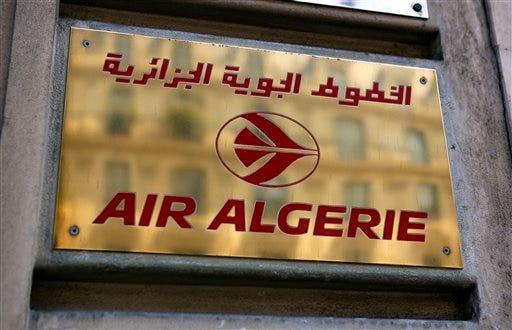 France Algeria Plane