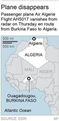 ALGERIA PLANE