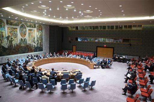 United Nations Israeli Palestinians