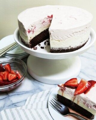 Neapolitan Ice Cream Cake from CakeBossBaking.com