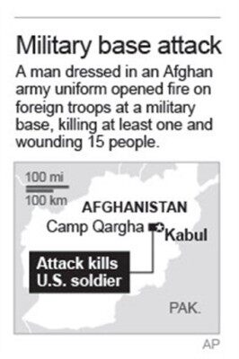 AFGHAN ATTACK