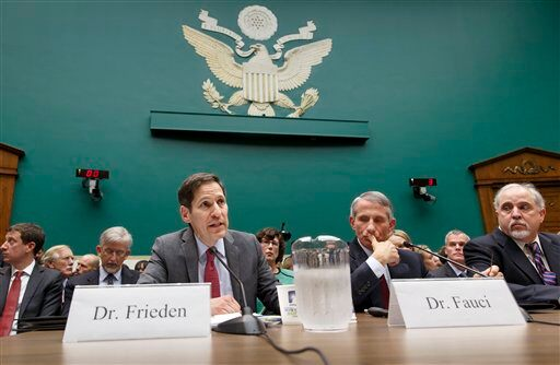 Tom Frieden, Anthony Fauci, Robin Robinson