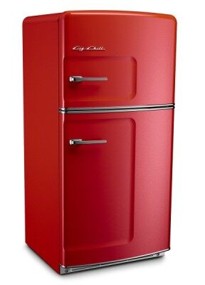 Retro Big Chill Refrigerator Courtesy of Saveur magazine