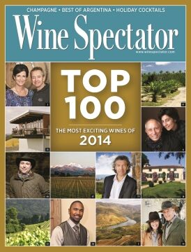 Wine Spectator Top 100 List 2014