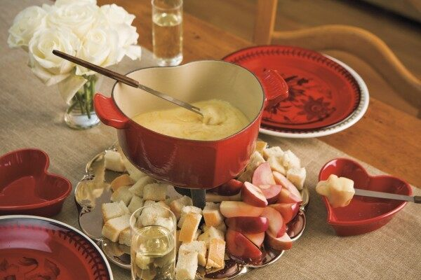 Fondue from Lorraine Wallace's Mr. and Mrs. Sunday's Suppers