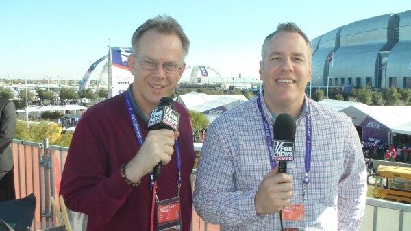 Photo Credit: FOX News Radio's Ron Flatter (left) and Jeff Monosso (right)