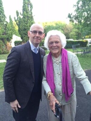 brad and barbara bush